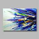 halpa Maisema maalaukset-Hang-Painted öljymaalaus Maalattu - Abstrakti Comtemporary / Moderni Sisällytä Inner Frame / Venytetty kangas