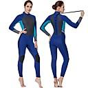 ieftine Neopren, Costume de scafandru & Bluză Protecție-Pentru femei Neopren Întreg 3mm Costume de scafandru Design Anatomic Manșon Lung Toamnă / Primăvară / Vară