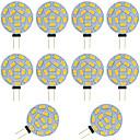 preiswerte LED Doppelsteckerlichter-10 Stück 2W 360lm G4 LED Doppel-Pin Leuchten T 15 LED-Perlen SMD 5730 Warmes Weiß Kühles Weiß 12-24V 12V