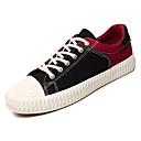 ieftine Pantofi Sport de Bărbați-Bărbați Tălpi de iluminat Pânză Primăvară Adidași Negru / Roșu / Negru / Galben