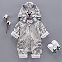 ieftine Set Îmbrăcăminte Băieți Bebeluși-Bebelus Băieți De Bază Mată Manșon Lung Poliester O - piesă Portocaliu 90 / Copil