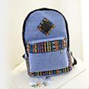 זול Intermediate School Bags-בגדי ריקוד נשים שקיות בַּד תיק לבית הספר רוכסן פול / תלתן / אפור בהיר