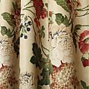 preiswerte Fenstervorhänge-Verdunklungsvorhänge Vorhänge Esszimmer Blumen 100% Polyester Bedruckt