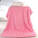 olcso Csillárok-Csecsemő Uniszex Egyszínű Takaró Medence / Fehér / Arcpír rózsaszín Egy méret