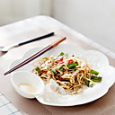 זול כלי אוכל-יחידה 1 חַרְסִינָה יצירתי / Heatproof צלחות לארוחה, כלי אוכל