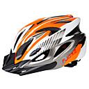 baratos Luvas de Ciclismo-Adulto Capacete de bicicleta 18 Aberturas ESP+PC Esportes Ciclismo / Moto / Moto - Preto / Vermelho / Black / azul / Prata + Orange Unisexo