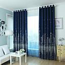 abordables Adhesivos de Pared-Blackout cortinas cortinas Dormitorio Contemporáneo Mezcla de poliéster Impreso / Oscuridad