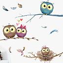 billige Veggklistremerker-Dekorative Mur Klistermærker - Fly vægklistermærker / Animal Wall Stickers Dyr Innendørs
