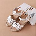 povoljno Cipele za djevojčice-Djevojčice Cipele Koža Ljeto Udobne cipele Sandale Mat selotejp za Dijete koje je tek prohodalo Obala / Pink