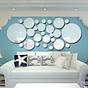 baratos Adesivos de Parede-Autocolantes de Parede Decorativos - Autocolantes de Parede Espelho Formas Sala de Estar / Quarto / Banheiro