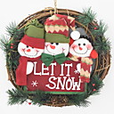 cheap Holiday Deals-Christmas Ornaments Holiday Wooden Round Novelty Christmas Decoration