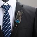 baratos Anéis para Homens-Homens Retro Broches - Broche Vermelho / Verde / Azul Para Noivado
