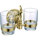 cheap Toothbrush Holder-Toothbrush Holder New Design / Cool Contemporary Brass 1pc Toothbrush & Accessories Wall Mounted