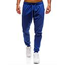 povoljno Muške duge i kratke hlače-Muškarci Osnovni Chinos / Sportske hlače Hlače Jednobojni
