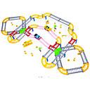 baratos Trens de brinquedo e conjuntos de trem-Trens & Ferrovias de Brinquedo Trem Cauda Requintado / Fabricado à Mão / Interação pai-filho Plástico e metal / Revestimento em Plástico / PP+ABS Todos Infantil Dom 1 pcs