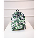 cheap Rings-Unisex Bags Nylon Backpack Pattern / Print Green