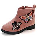 ieftine Pantofi Fetițe-Fete Pantofi Piele de Căprioară Toamna iarna Ghete Cizme Plimbare Imprimeu Animal pentru Copii Roz / Roșu Vin / Kaki