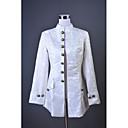 povoljno Anime kostimi-Princ Rococo Barroco 18. stoljeće Cosplay Nošnje Szmoking Odijela i Blazers Muškarci Kostim Bež Vintage Cosplay Maškare