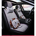 cheap TV Boxes-ODEER Car Seat Covers Seat Covers Light Grey Textile Cartoon / Common For universal All years All Models