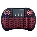 baratos Teclados-Factory OEM 2.4G backlight multi cor 92 pcs office Keyboard Cores Gradiente Alimentado por Bateria alimentado