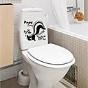 ieftine Acțibilde de Perete-Autocolante toaletă - Autocolante perete plane / Animal Stickers de perete Animale / Forme Baie / Cameră Copii