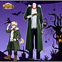 Χαμηλού Κόστους Περούκες Ηρώων Βιντεοπαιχνιδιών-Εμπνευσμένη από Ηρωίδα μου Ακαδημία Bakugou Katsuki Anime Στολές Ηρώων Κοστούμια Cosplay Μοντέρνα Επίστρωση / Κορυφή / Παντελόνια Για Ανδρικά Κοστούμια Halloween
