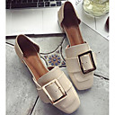 cheap Artificial Flower-Women's Shoes PU(Polyurethane) Spring &  Fall Comfort / Basic Pump Heels Chunky Heel Black / Beige / Brown