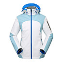 cheap Softshell, Fleece & Hiking Jackets-Women's Hiking Softshell Jacket Hiking Windbreaker outdoor Autumn / Fall Winter Windproof Rain-Proof Breathability Terylene Jacket Single Slider Camping / Hiking Ski / Snowboard Traveling