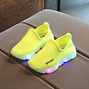 cheap Men's Sneakers-Boys' / Girls' Shoes Mesh Spring &  Fall Comfort / Light Up Shoes Sneakers LED for Kids / Toddler Red / Green / Pink