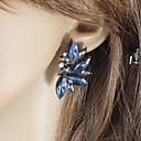 זול סטים של תכשיטים-בגדי ריקוד נשים מסוגנן עגילים צמודים - בַּר מַזָל בסיסי, אופנתי לבן / כחול / ורוד עבור יומי פגישה (דייט)