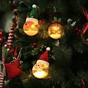 preiswerte Feiertags Party Dekoration-Weihnachtsweihnachtsschneemannrotwild hängende geführte Kugelweihnachtsbaumdekorationslampe Hauptschlafzimmerhofnachtlicht