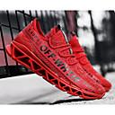 זול נעלי ספורט לגברים-בגדי ריקוד גברים נעלי נוחות רשת קיץ & אביב נעלי אתלטיקה ריצה לבן / שחור / אדום
