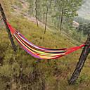 billige Rygsække og tasker-Camping-hængekøje Udendørs Bærbar, Letvægt Lærred, Nylon for Campering & Vandring / Rejse - 2 personer Fersken