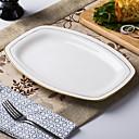 billige Servise-1 stk Middagstallerker Servise Keramikk Kreativ Varmebestandig