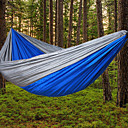 preiswerte Punktierung Werkzeuge-Campinghängematte Außen Leicht Nylon für Wandern / Camping / Reise - 2 Personen Orange / Dunkelblau / Armeegrün