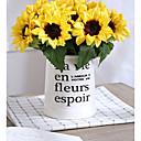 ieftine Flor Artificiales-Flori artificiale 6 ramură Clasic / Single Stilat / Pastoral Stil Floarea soarelui Față de masă flori