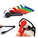 preiswerte Bürobedarf-2pcs Sonnenbrille Brillen Mikrofaser Brille Reiniger Pinsel Reinigungswerkzeug zufällig