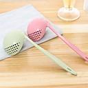 baratos Utensílios & Gadgets de Cozinha-1pç Utensílios de cozinha PP Multi-Função / Aderência conveniente / Gadget de Cozinha Criativa Escumadeira / Colher Multifunções