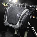 abordables Sacoches de Guidon de Vélo-6 L Sacoche de Guidon de Vélo Sac à bandoulière Multifonctionnel Etanche Portable Sac de Vélo Nylon Sac de Cyclisme Sacoche de Vélo Cyclisme Vélo Cyclisme Voyage / Bandes Réfléchissantes