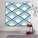 levne Nástěnné tapiserie-Obdélníkový Wall Decor Polyester Moderní Wall Art, Nástěnné tapiserie Dekorace