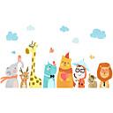 رخيصةأون ملصقات الحائط-لواصق حائط مزخرفة - لواصق حائط الطائرة / ملصقات الحائط الحيوان حيوانات حضانة / غرفة الأطفال
