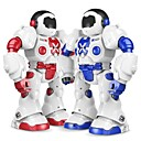 billige Dukketilbehør-RC Robot XINGYUCHUANQI 2.4G PP+ABS Fremover bakover / Programmerbar / Multifunksjonell Nei