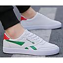 tanie Adidasy męskie-Męskie Komfortowe buty PU Wiosna i jesień Adidasy Różowy / Biały / czarny / biały / Biały / Zielony