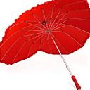 olcso Parti fejdíszek-Anyag Női Sunny és Rainy Egyenes esernyő