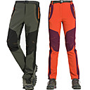 cheap Hiking Trousers & Shorts-Women's Solid Color Hiking Pants Softshell Pants Outdoor Waterproof Windproof Fleece Lining Breathable Autumn / Fall Spring Winter Softshell Pants / Trousers Bottoms Hiking Climbing Outdoor Exercise