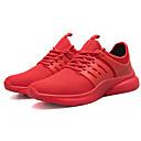 hesapli Erkek Atletik Ayakkabıları-Erkek Ayakkabı Örümcek Ağı / PU Sonbahar Sportif Atletik Ayakkabılar Koşu Atletik için Siyah / Kırmzı / Siyah / Beyaz