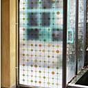 levne Samolepky na zeď-Okenní film a samolepky Dekorace Běžný Geometrický PVC Nálepka na okna