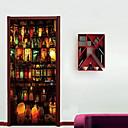 ieftine Acțibilde de Perete-Autocolante de Perete Decorative - Autocolante perete plane Halloween Bucătărie