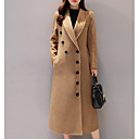 cheap Table Runners-women's long coat - solid colored