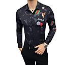 preiswerte Modische Halsketten-Herrn Einfarbig Hemd